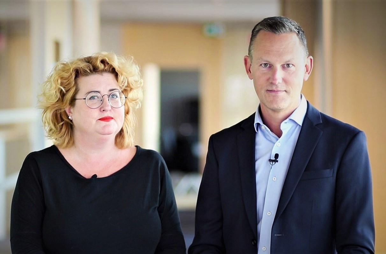 Ulrica Schenström och Staffan Ström