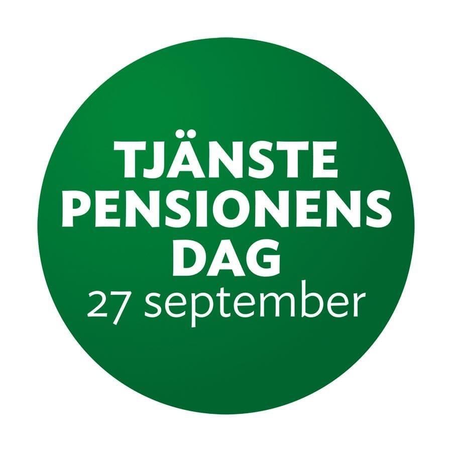 Tjänstepensionens dag firas varje år den 27 september